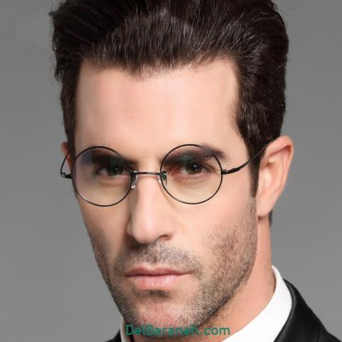 مدل عینک طبی گرد