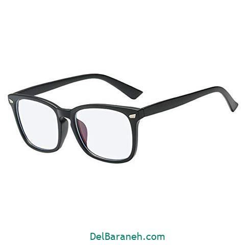 مدل عینک طبی مردانه ساده