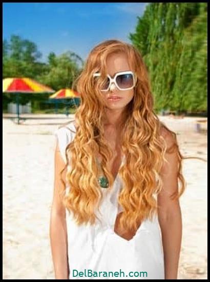مدل مو برای مو فر (۲)