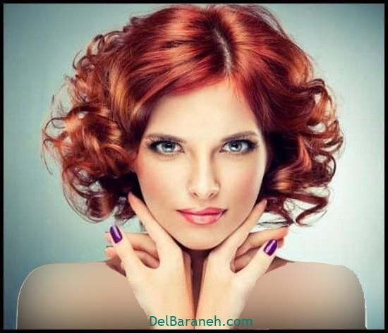 مدل مو برای مو فر (۵)