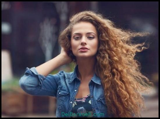 مدل مو برای مو فر (۷)