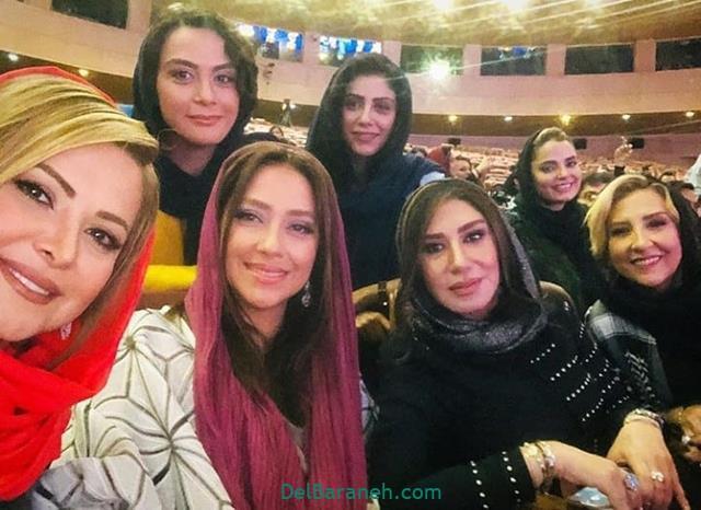 عکس بازیگران زن در جشن حافظ 98