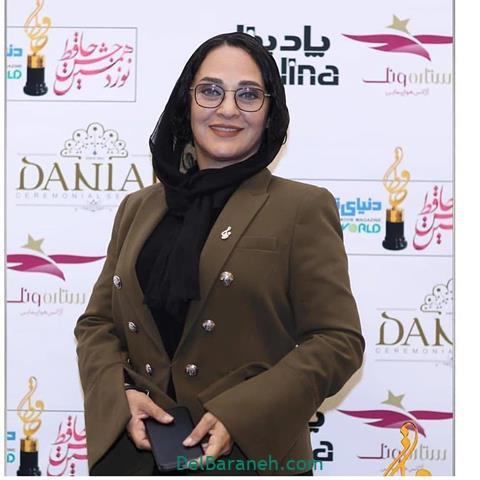 عکس رویا نونهالی در جشن حافظ 98
