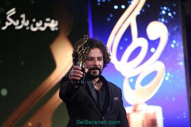 عکس حسام منظور در جشن حافظ 98