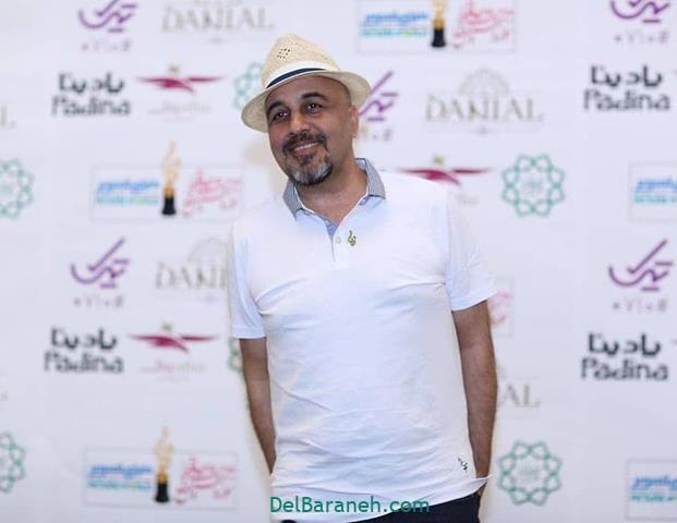 عکس رضا عطاران در جشن حافظ 98