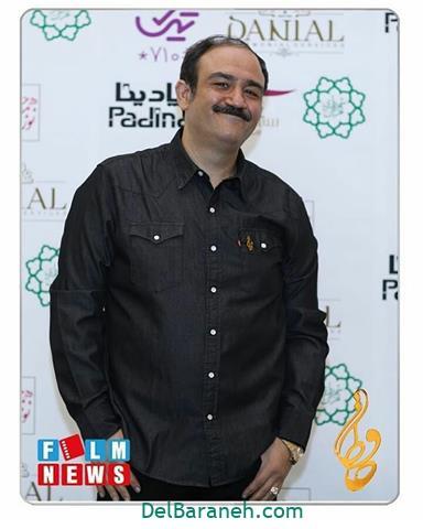عکس مهران غفوریان در جشن حافظ 98