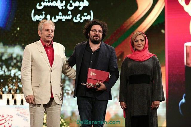 عکس کمند امیر سلیمانی در جشن حافظ 98