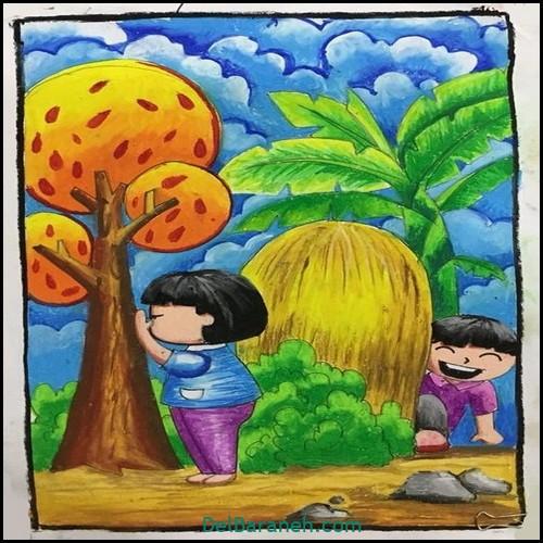 نقاشی کودکانه (۱۵۷)