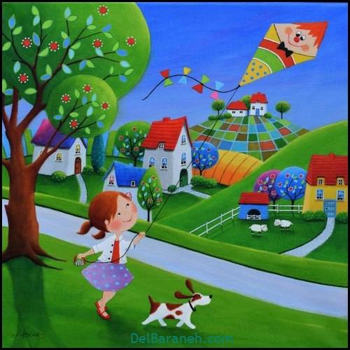 نقاشی کودکانه (۱۷۴)