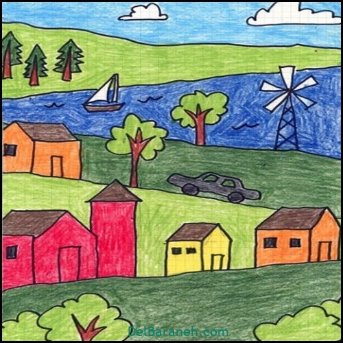 نقاشی کودکانه (۴۴)
