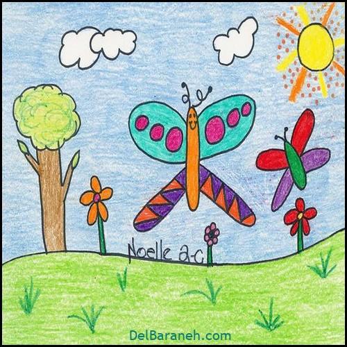 نقاشی کودکانه (۸۰)