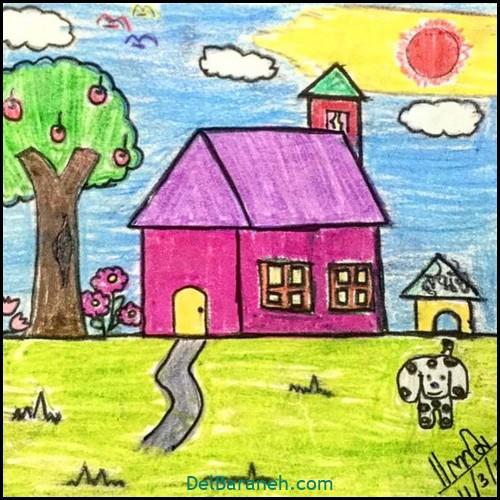 نقاشی کودکانه (۹۳)