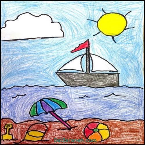 نقاشی کودکانه (۹۹)
