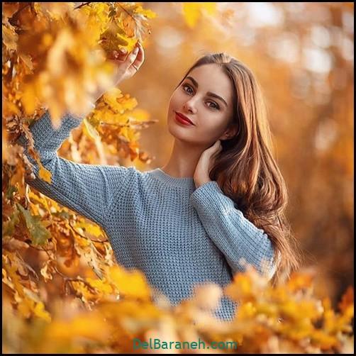 عکس دخترانه پاییزی (۱۰)