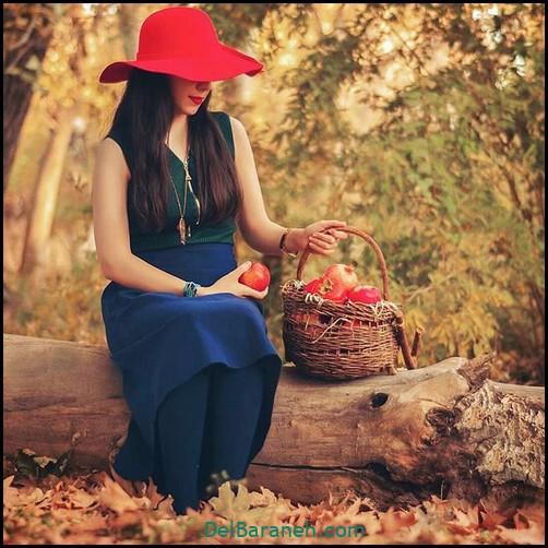 عکس دخترانه پاییزی (۱۵)