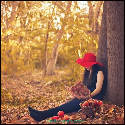 عکس دخترانه پاییزی (۱۶)