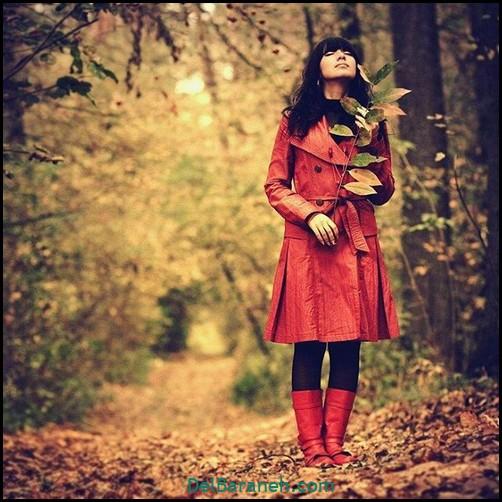 عکس دخترانه پاییزی (۱۷)