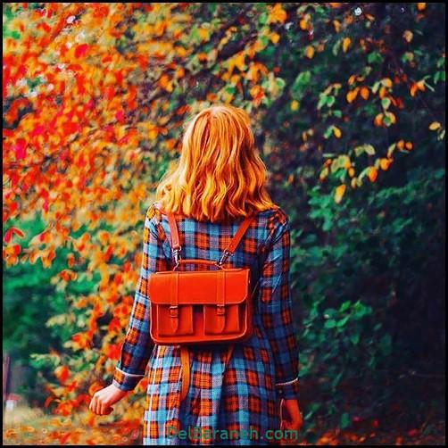 عکس دخترانه پاییزی (۲۵)