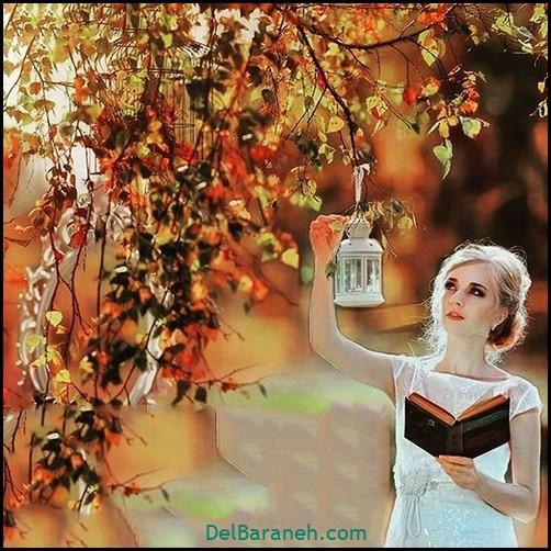 عکس دخترانه پاییزی (۳۳)