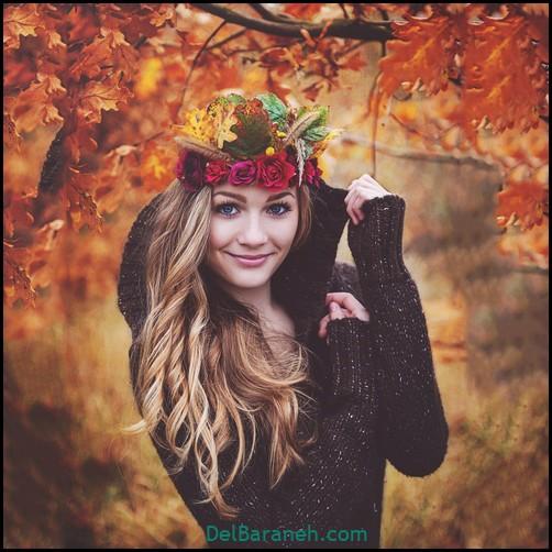 عکس دخترانه پاییزی (۳۴)
