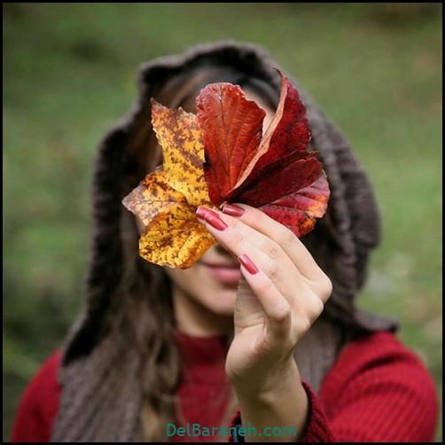 عکس دخترانه پاییزی (۴۰)