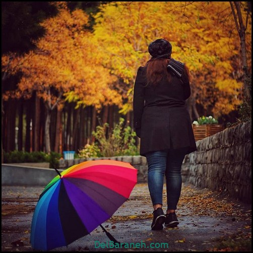 عکس دخترانه پاییزی (۴۵)