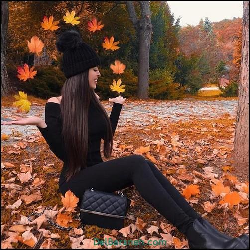 عکس دخترانه پاییزی (۴۶)