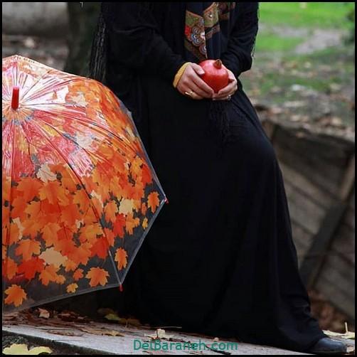 عکس دخترانه پاییزی (۵۱)