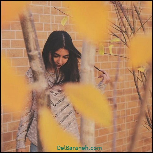 عکس دخترانه پاییزی (۶)