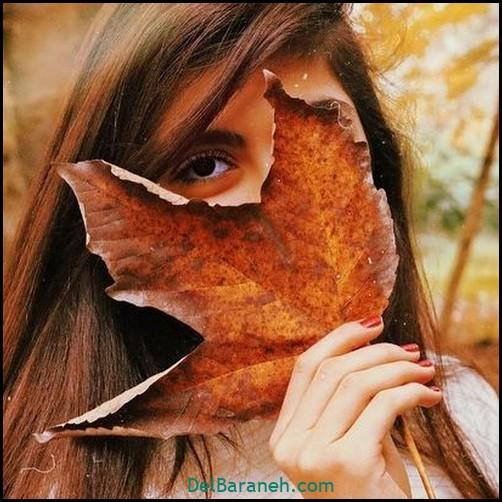 عکس دخترانه پاییزی (۷)