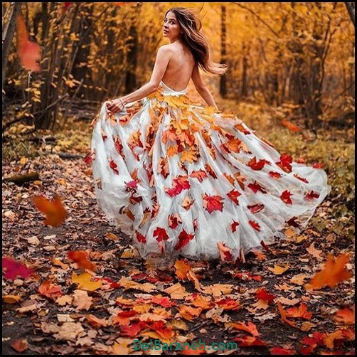 عکس دخترانه پاییزی (۹)