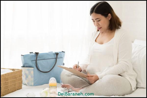 هفته سی و پنجم بارداری (۳)
