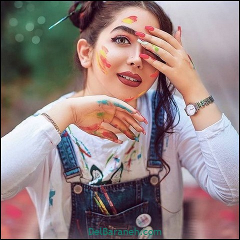 عکس دختر باکلاس (۲)