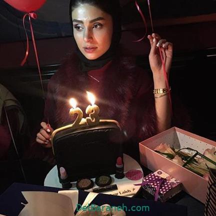 عکس های جشن تولد لاله مرزبان