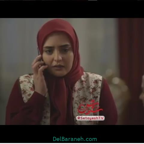نرگس محمدی در پشت صحنه سریال ستایش 3