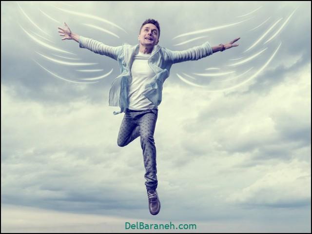 انشا در مورد پرواز بدون بال (۱۳)