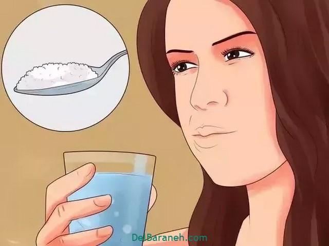 درمان سریع آفت دهان