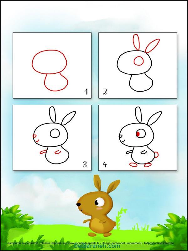 آموزش گام به گام نقاشی کودک (۱۲)