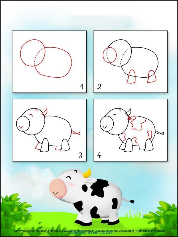 آموزش گام به گام نقاشی کودک (۱۴)