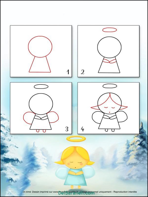 آموزش گام به گام نقاشی کودک (۱۵)