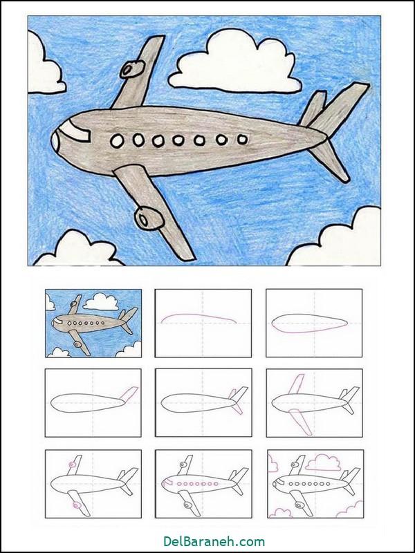 آموزش گام به گام نقاشی کودک (۲۱)