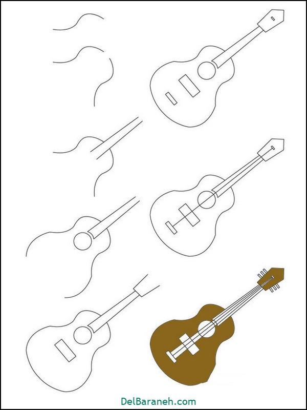 آموزش گام به گام نقاشی کودک (۴۳)