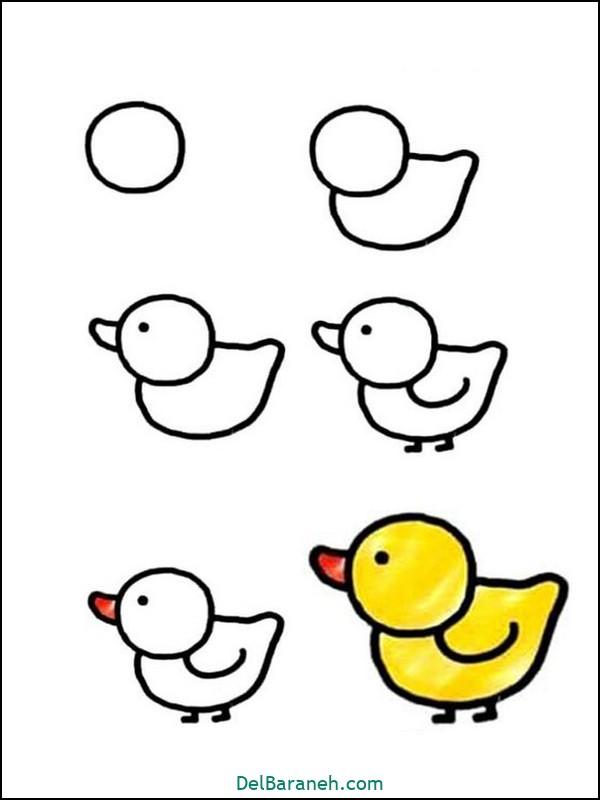 طراحی نقاشی کودکانه