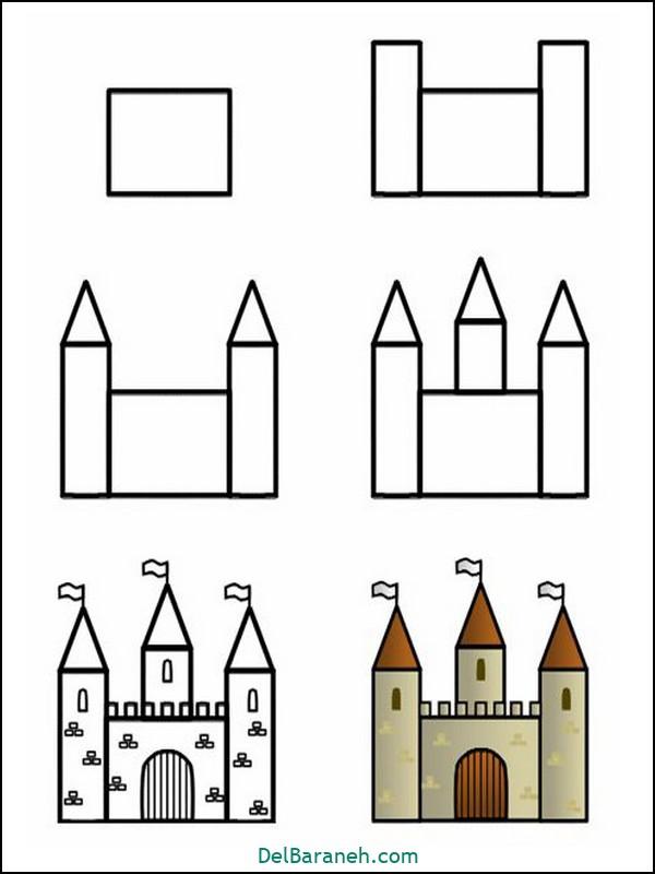 آموزش گام به گام نقاشی کودک (۵۳)