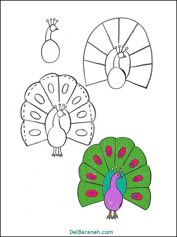 آموزش گام به گام نقاشی کودک (۵۵)