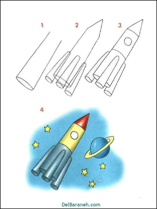 آموزش گام به گام نقاشی کودک (۶۱)