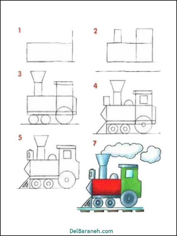 آموزش گام به گام نقاشی کودک (۶۵)
