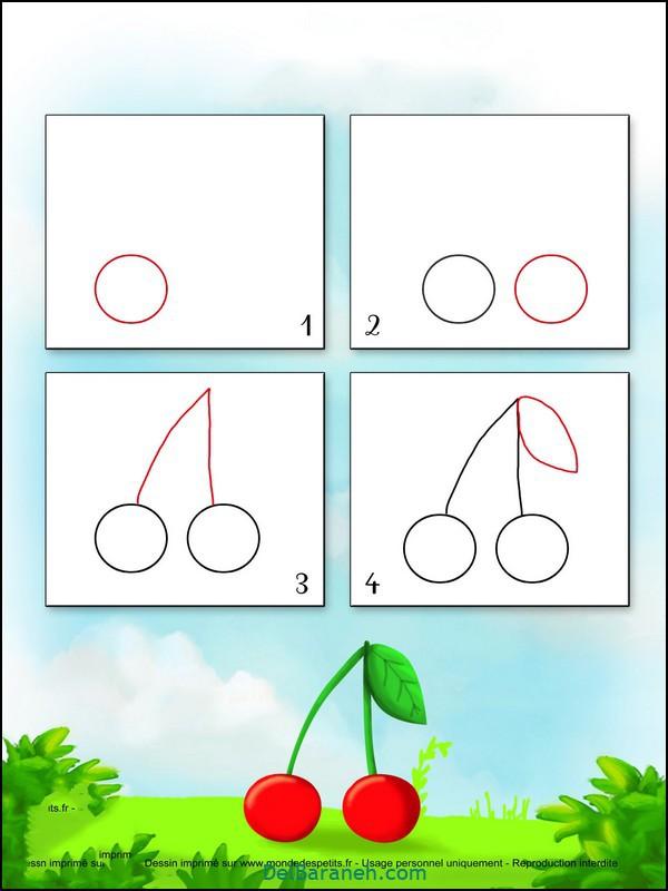 آموزش گام به گام نقاشی کودک (۷)