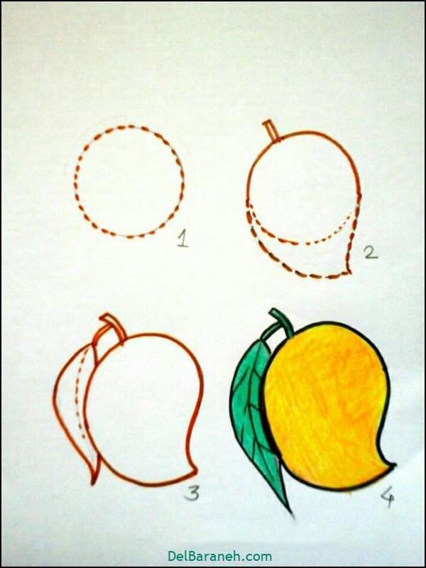 آموزش گام به گام نقاشی کودک (۷۶)