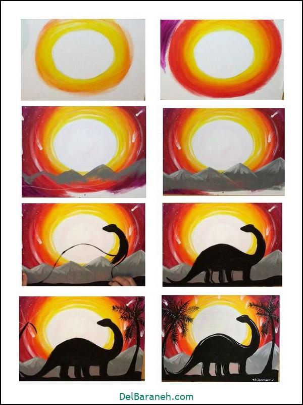 آموزش گام به گام نقاشی کودک (۷۷)